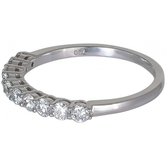 Lucid's Half diamond ring
