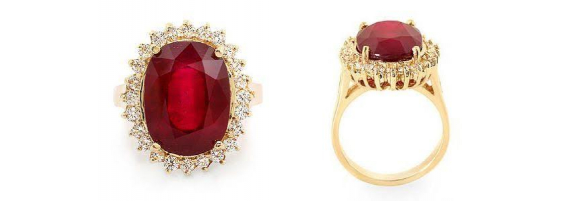 Buy Ruby Rings Online From A Leading Jewelry Store In Dubai