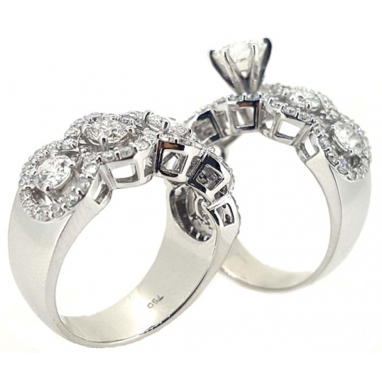Be Together Diamond Rings - OR1321