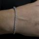Round Tier Tennis Bracelet
