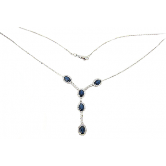 Love Affair Sapphire Necklace