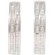 Baguette Diamond Hoop Earrings - B10913