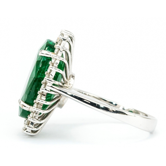 Diana Design Emerald Ring