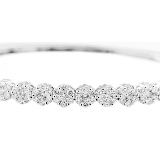 Crimson Illusion Diamond Bangle-B11629