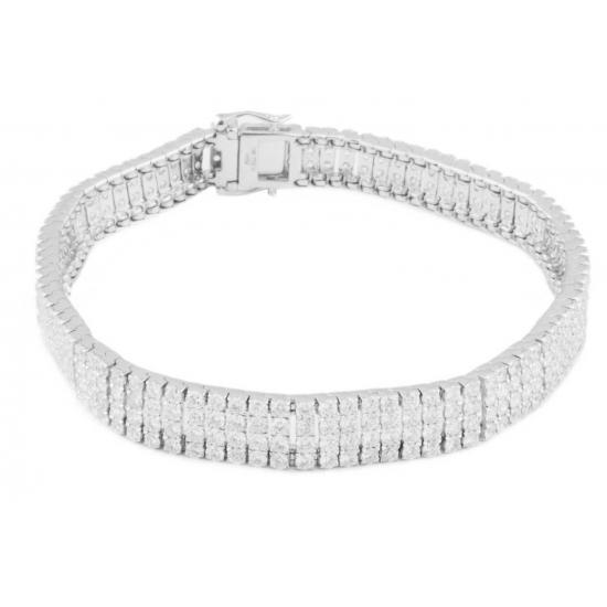 Eternal Diamonds Bracelet-B12063
