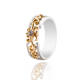 CARVED WEDDING RING -B12566