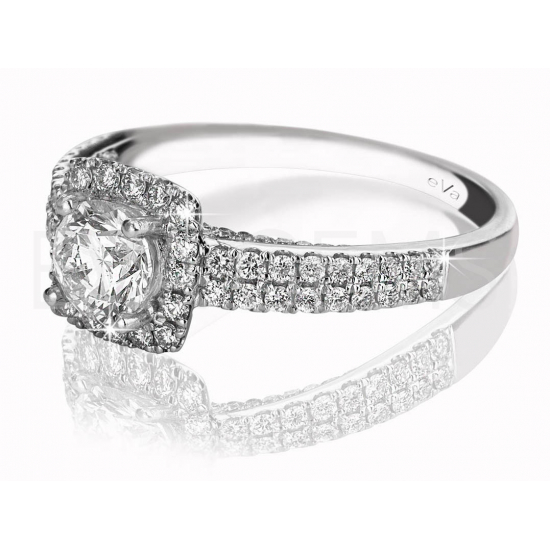 Motif Diamond Ring