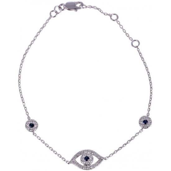 Eye Diamond Bracelet