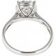 Framed Pressure Set Diamond Ring - B13661