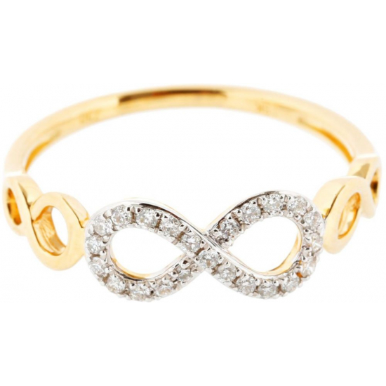 Infinity Diamond Ring - B13682