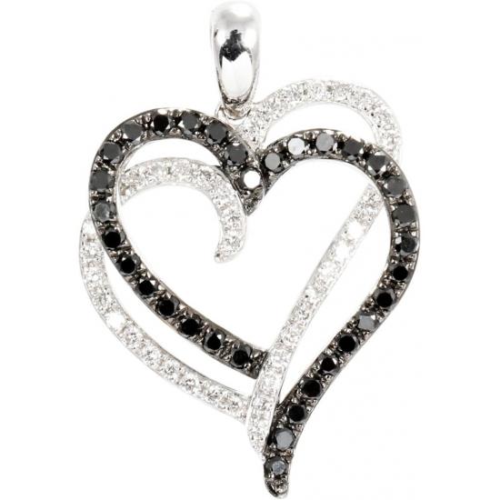 True love heart pendant