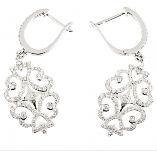 Designer Diamonds Earrings - B13707