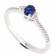 LILY BLUE DIAMOND RING-  B13983