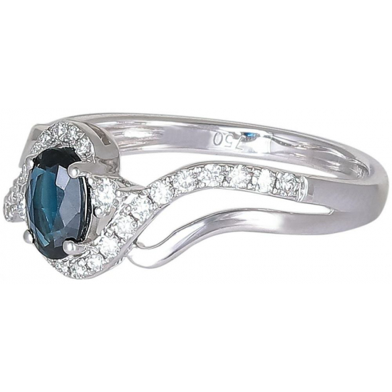 Blue Almighty Diamond ring