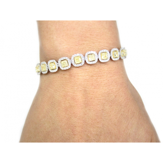 BIJOUX FANCY YELLOW BRACELET