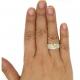 AVALANCHE YELLOW DIAMOND RING