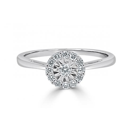 miracle diamond ring