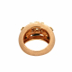 Sunshine Rose Gold Diamond Ring