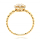 BRIDE GOLD DIAMOND RING