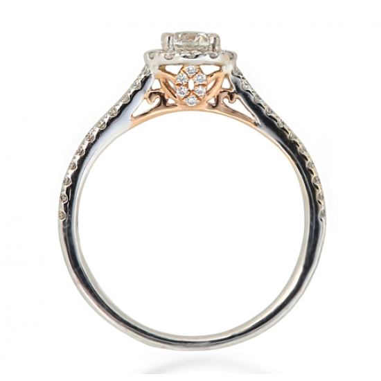 Aspirational Solitaire Ring