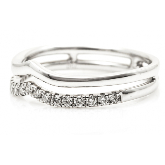 Amphitheatre Diamond Ring