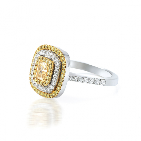 Yellow Diamond Engagement Ring