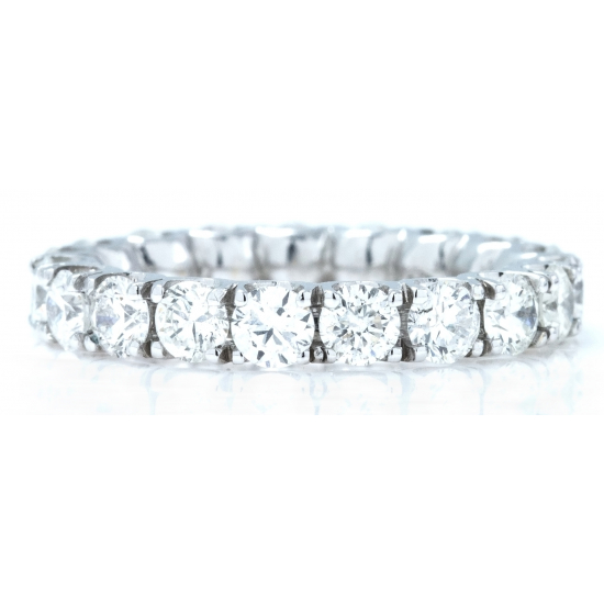 Classic Full Eternity Diamond Bend