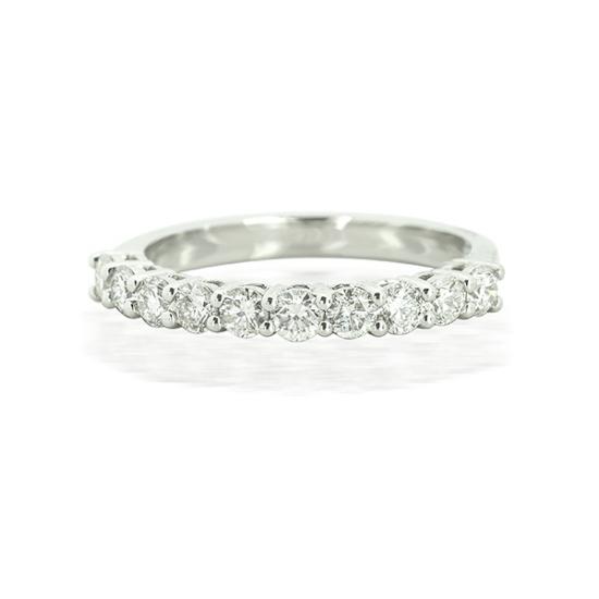 Eternity Claw Half Setting Diamond Ring