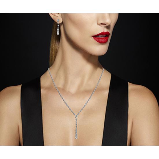 Sandstorm Diamond Half Necklace Set.
