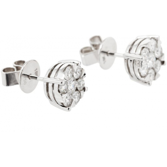 Illusion Stud Earrings