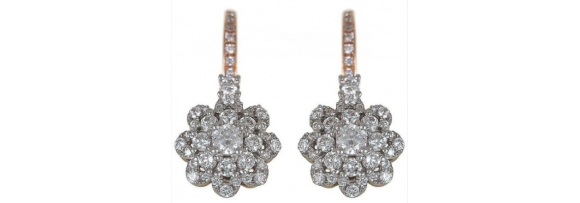 Purchase Precious Diamond Earrings In Dubai Online At Very Affordable Price Range