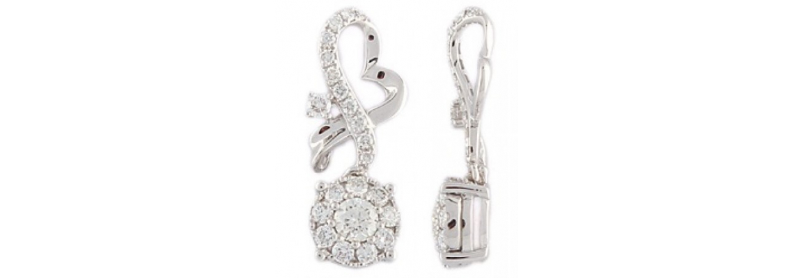 Improve your Beauty and Charm by Wearing Exquisite Diamond Pendants